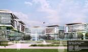 Okmeydanı Research Hospital 2019 - İstanbul/  Turkey  Categories: Hospital Contractor: Taş Yapı Customer: Istanbul City Administrations Architect: HWP-Planung  Facade Area: 50.246 m2