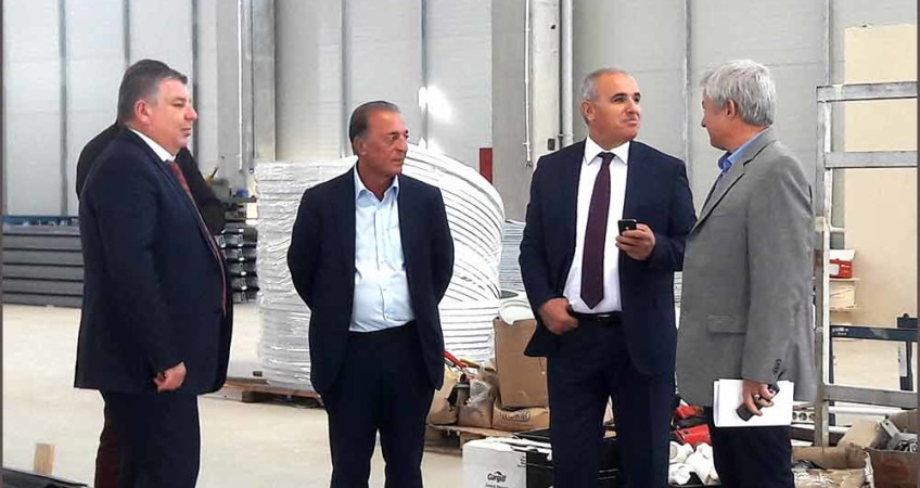 VISIT TO OUR FACTORY BY ÇORLU SUB-GOVERNOR AND VELİMEŞE OSB DIRECTOR