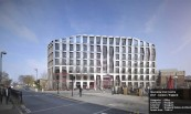 Hounslow Civic Centre 2017 - London / England Categories : Office Contractor : Bouygues Customer : Bouygues Architect : Sheppard Robson Architects Facade Area : 7.046 m2