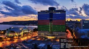 Bakü Hilton 2009 - Baku / Azerbaycan  Kategori     :  Otel Müteahhit : Koray İnşaat Müşteri      : ISR Holding Mimar        : KM Architecture Engineering&Consulting Company Metraj        : 20.000 m2