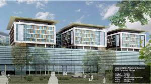 Göztepe Eğitim Araştırma Hastanesi 2019 - İstanbul/  Türkiye  Kategori     :  Hastane Müteahhit : Taş Yapı Müşteri      : İstanbul İl Özel İdaresiYapı Mimar        : HWP-Planung  Metraj        : 50.246 m2