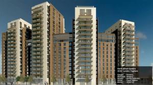 North Wharf Gardens 2018 - Londra / İngiltere Kategori : Residans Müteahhit : Midgard Müşteri : Amwaj Properties Mimar : Powell Dobson Metraj : 29.822 m2