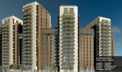 North Wharf Gardens 2018 - London / England Categories : Residance Contractor : Midgard Customer : Amwaj Properties Architect : Powell Dobson Facade Area : 29.822 m2