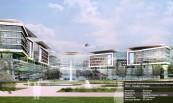 Научно-исследовательская Больница Окмейданы 2019 - Стамбул /Турция  Категории: Больница Подрядчик: Таш Япы Клиенты: Администрация г.Стамбул Архитектор: ХВП-Планунг  площадь фасада: 50.246 m2